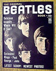 Beatles Original Magazine 1964 Latest Scoop & Photos
