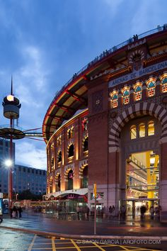 Centro Comercial 'Las Arenas' (antigua plaza de toros) Barcelona