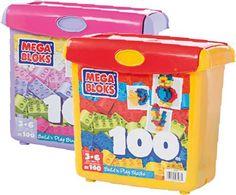 Mega Bloks Mini Bloks 100pc Scoop Bucket Toy Sale, Bucket, Xmas, Mini, Christmas, Navidad, Noel, Buckets, Natal