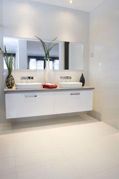 Stylish white subway tile bathroom 01
