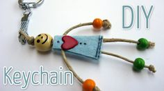 These homemade DIY keychain ideas are perfect for you or as gifts for friends and family. Don't miss the beaded keychains! Kids Crafts, Easy Diy Crafts, Preschool Crafts, Craft Projects, Xmas Gifts, Cute Gifts, Craft Sites, Diy Keychain, Keychain Ideas