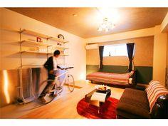 guesthouse accommodation Tokyo-to Adachi-ku Yanaka Tokyo Metro Chiyoda Line Kita-Ayase station the earth KITA-AYASE