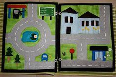 Quiet Book Car Page