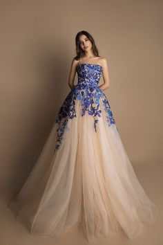 1593 Long Ball Dresses, Ball Gown Dresses, Evening Dresses, Banquet Dresses, Gala Dresses, Desi Wedding Dresses, Indian Wedding Outfits, 2 Piece Prom Dress, Fashion Illustration Dresses