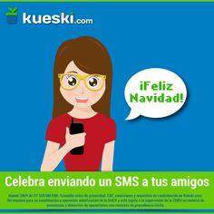 """¿Sabías que un 3 de diciembre de 1994 se envío el 1er SMS? El mensaje decía """"Feliz Navidad"""" #KueskiEfemérides #SMS"""