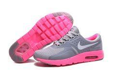 Spring Summer 2018 Fashion WMNS Nike Air Max Zero 2016 GS Dark Grey Pink  Force Pink
