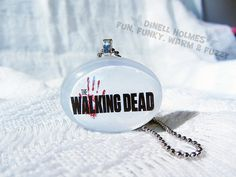 ONLY 1 LEFT! The Walking Dead Domed Glass Pendant Handmade Etsy $8.00