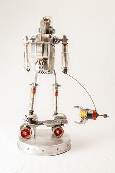 Rocketman Robot © 2013 Graham Schodda