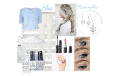 """""""Elsa comfy casual look"""" by marinxtahlia ❤ liked on Polyvore featuring River Island, Glamorous, Bling Jewelry, Casetify, Essie, OPI, NARS Cosmetics, Été Swim and disneylooksmarinxtahlia"""
