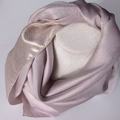 Check out Pale pink square silk scarf, Pink Silk wedding scarf, Gold metallic dots, Scarf for wife, Christmas Gift on blingscarves