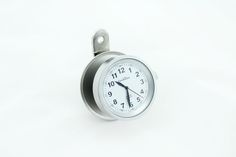 NEW!  Silver / White Clock 1 Clock- Six Mounting Options