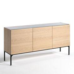 bahut design industriel armando style factory qui comprend de nombreux rangements meuble de. Black Bedroom Furniture Sets. Home Design Ideas