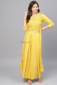 Confused, what to wear for your Haldi ? Head to our blog for outfit ideas under budget. Click on the link attached below  #indianwedding #shaadisaga #intimatewedding #bridalfashion #indianweddinginspiration #haldiceremony #haldioutfitideas #weddingoutfitonbudget Yellow Kurti, Haldi Ceremony, Yellow Fabric, Color Yellow, Floral Jacket, Print Jacket, Trendy Fashion, Womens Fashion, Fashion Ideas