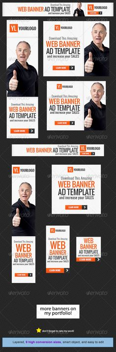 Corporate Web Banner Design Template PSD | Buy and Download: http://graphicriver.net/item/corporate-web-banner-design-template-20/5317914?WT.ac=category_thumb&WT.z_author=admiral_adictus&ref=ksioks
