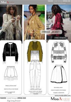 18 Best Fringed Jackets & Coats for Winter! 2020 Fashion Trends, Spring Fashion Trends, Fashion 2020, Spring Summer Fashion, Fringe Leather Jacket, Fringe Fashion, Fashion Forecasting, Colorful Fashion, Pattern Fashion