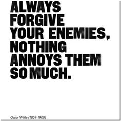 yes&&being nice to people who hate you for no reason! ;)