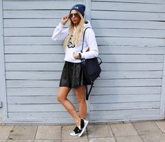 #sandicious #look #stylizacja #outfit #sportylook #sporty #sneaers #hoodie #blogerka
