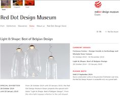 "From 28 October 2014 until 25 January 2015, the Red Dot Design Museum Essen presents the special exhibition ""Light & Shape: Best of Belgian Design"". ‪#‎RedDotDesign‬ ‪#‎DARK‬ ‪#‎Bubble‬ ‪#‎D2V2‬ ‪#‎wearefromBelgium‬"