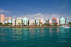 Nassau - capital of Bahamas Les Bahamas, Nassau Bahamas, The Places Youll Go, Places To See, Places Ive Been, Places To Travel, Travel Destinations, Paradise Island, Beach Cottages