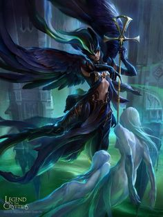 Angel extraña legend of the cryptids