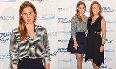 Princess Beatrice joins Fergie for a charity fundraiser in New York