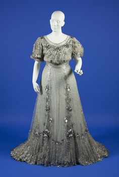 Early 1900's Fashion / Evening Dress c.1904-1906 From Ohio State ...