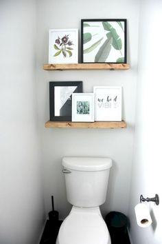 Cool Best 20+ Bathroom Shelves Over Toilet Design Ideas That Will More Useful https://freshouz.com/best-20-bathroom-shelves-over-toilet-design-ideas-that-will-more-useful/ #home #decor #Farmhouse #Rustic