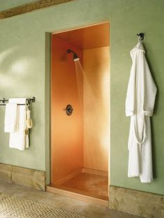 Copper Shower