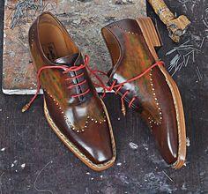 Model RELO- Handmade shoes for Men. For details, visit: http://www.emillosanto.com