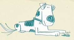 a little discarded doodle I stumbled across Cartoon Dog, Cartoon Drawings, Art Drawings, Dog Illustration, Graphic Design Illustration, Animal Sketches, Animal Drawings, Doodle Characters, Dog Paintings