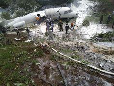 URGENTE: Se accidenta avioneta privada al salirse de la pista del aeropuerto de Toncontín… siete heridos
