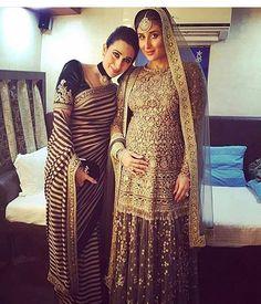 #KarismaKapoor @therealkarismakapoor in a #Sabyasachi #Sari for the #LakmeFashionWeekGrandFinaleWinterFestive2016 #IIIuminateBySabyasachi  @lakmefashionwk #LakmeIndia #LakmeFashionWeek Styled by @tanghavri #TheWorldOfSabyasachi @kishandasjewellery #KishandasForSabyasachi