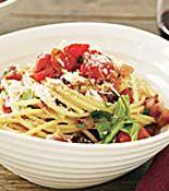 Cherry Tomato Spaghetti all'Amatriciana (Rachel Ray Recipe)
