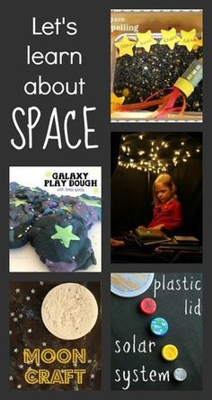 Great resources for space activities :: space theme
