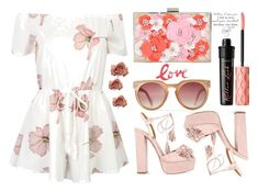 """""""Sunday Love"""" by nicolesynth ❤ liked on Polyvore featuring Aquazzura, New Look and Benefit"""