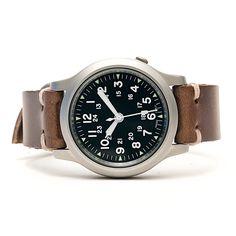 E3 Seiko Retro Mod 38mm Automatic Watch: Military