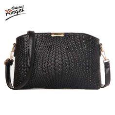 Women Bag 2016 Women Messenger Bags Small Wave Clutch Bags Handbags Women Famous Brands Designer Bolsa Feminina Mochila Black ** Vy mozhete poluchit' dopolnitel'nuyu informatsiyu po ssylke izobrazheniya.