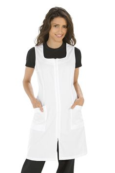 PICHY BLANCO 8044 Work Uniforms, Apron, Jumper, Couture, Sewing, Clothes, Dresses, Women, Funny