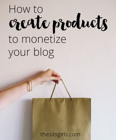 Blog Tips | Creating and selling your own products is a great way to make money with your blog. This post walks you through the entire process from start to finish and offers creative ideas for products and services you can sell.