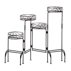 Zingz & Thingz Congregation Quad Plant Stand