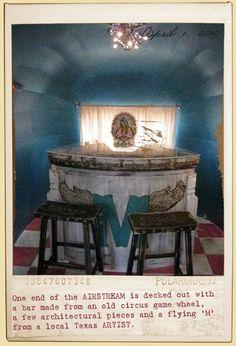 Miranda Lambert's AIRSTREAM Bar by the Junk Gypsy Company