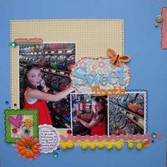 Food and Candy challenge at Frosted Designs