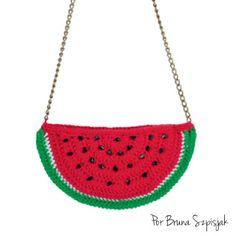 Aprendiz de Crocheteiras: Ponto a ponto: aprenda a fazer uma bolsa em format...