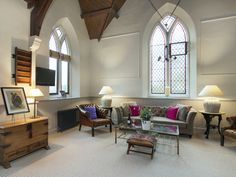 This Victorian, detached former chapel has been lovingly restored and retains much of its original charm.