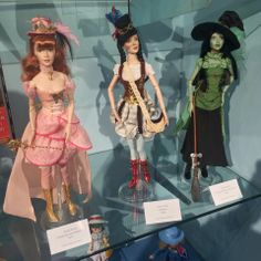 Steampunk Wizard of Oz Dolls from Madame Alexander on @Ricky K. K. K. Young