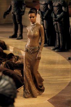 Photo Gallery: Chronicles of Riddick starring Vin Diesel, Thandie Newton Vin Diesel, Karl Urban, The Chronicles Of Riddick, Tatiana Maslany, Lady Macbeth, Hollywood, Iconic Movies, Movie Costumes, Perfect Woman