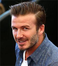 How to choose a haircut that complements a beard David Beckham Photos, Style David Beckham, Moda David Beckham, Undercut Men, Undercut Hairstyles, Cool Hairstyles, Men's Hairstyle, Medium Hairstyles, Hair Trends 2015