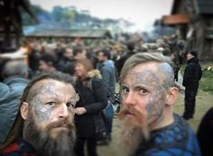 """Brother, is this Kattegat?"" #Vikings : @peter.franzen"