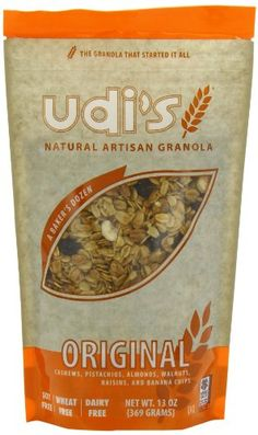 Udis Natural Original Granola 13Ounce Bags Pack of 6 * You can find out more details at the link of the image. (This is an affiliate link and I receive a commission for the sales)