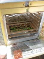 How to build a solar food dehydrator.  I want to try this to make sun-dried tomatoes.
